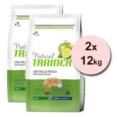 Trainer Natural Adult Maxi, kurczak 2 x 12 kg