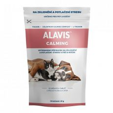 ALAVIS CALMING dla psów i kotów, 30 tabletek