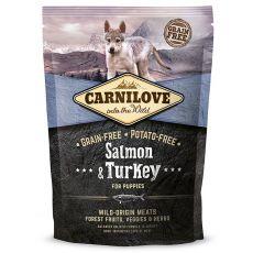 Brit CARNILOVE Salmon & Turkey Puppies 1,5 kg