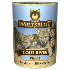 Konserwa WOLFSBLUT Cold River PUPPY, 395 g