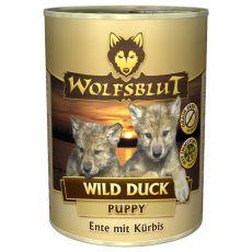 Konserwa WOLFSBLUT Wild Duck PUPPY, 395 g