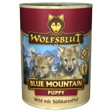 Konserwa WOLFSBLUT Blue Mountain PUPPY, 395 g