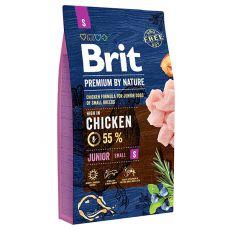 Brit Premium by Nature Junior Small 8 kg