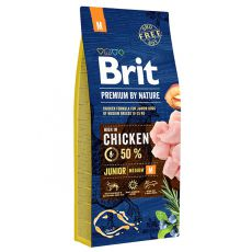 Brit Premium by Nature Junior Medium 15 kg