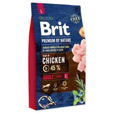Brit Premium by Nature Adult Large 8 kg