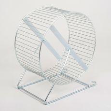 Duży metalowy kołowrotek - 21 cm