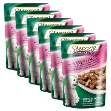 Stuzzy Speciality Dog - cielęcina z makaronem, 6 x 100 g