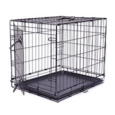 Klatka Dog Cage Black Lux, S - 61,5 x 42,5 x 50 cm