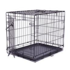 Klatka Dog Cage Black Lux, M - 78,5 x 52,5 x 59 cm