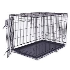 Klatka Dog Cage Black Lux, XL - 107,5 x 74,5 x 80,5 cm