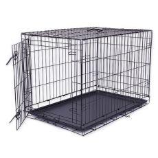 Klatka Dog Cage Black Lux, XXL - 125,8 x 74,5 x 80,5 cm