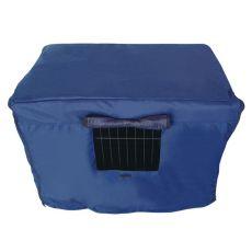 Pokrowiec na klatkę Dog Cage Black Lux S - 61,5 x 42,5 x 50 cm