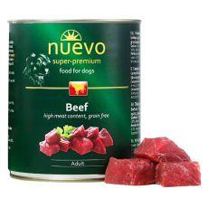 Konserwa NUEVO DOG Adult Beef 800 g
