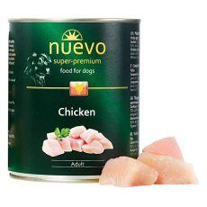 Konserwa NUEVO DOG Adult Chicken 800 g
