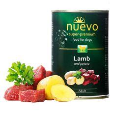Konserwa NUEVO DOG Adult Lamb & Potato 400 g