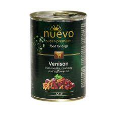 Konserwa NUEVO DOG Adult Venison Menue 400 g