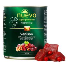 Konserwa NUEVO DOG Adult Venison Menue 800 g