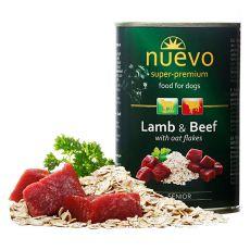 Konserwa NUEVO DOG Senior Lamb & Beef 400 g