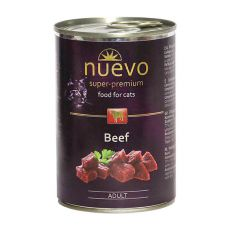 Konserwa NUEVO CAT Adult Beef 400 g