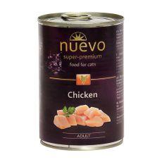 Konserwa NUEVO CAT Adult Chicken 400 g