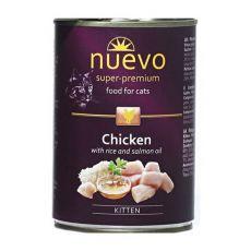 Konserwa NUEVO CAT Kitten Chicken 400 g