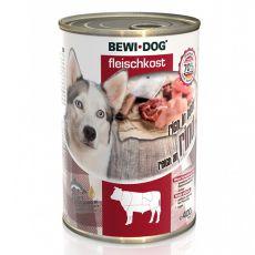 New BEWI DOG konserwa – wołowina, 400 g