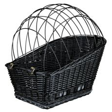 Koszyk z kratką na rower dla psa 35 × 49 × 55 cm