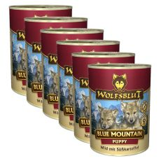 Konserwa WOLFSBLUT Blue Mountain PUPPY, 6 x 395 g