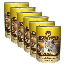 Konserwa WOLFSBLUT Gold Fields, 6 x 395 g