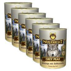Konserwa WOLFSBLUT Grey Peak PURE, 6 x 395 g