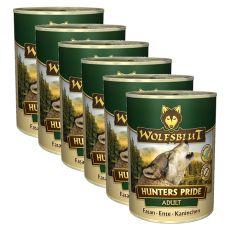 Konserwa WOLFSBLUT Hunters Pride, 6 x 395 g