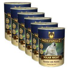 Konserwa WOLFSBLUT Polar Night, 6 x 395 g