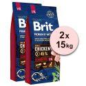 Brit Premium by Nature Senior Large i Extra Large 2 x 15 kg
