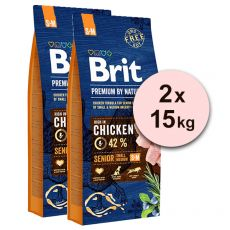 Brit Premium by Nature Senior Small i Medium 2 x 15 kg
