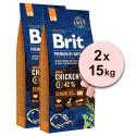 Brit Premium by Nature Senior Small i Medium 2 x 15 kg