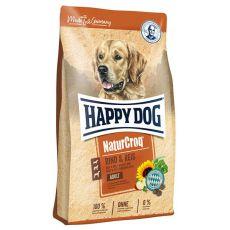Happy Dog NaturCroq RIND & REIS 15 kg