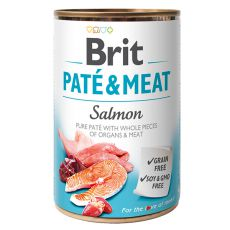 Konserwa Brit Paté & Meat Salmon, 400 g