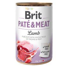 Konserwa Brit Paté & Meat Lamb, 400 g