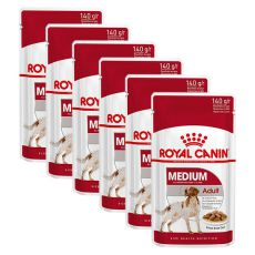 Saszetka Royal Canin Medium Adult 6 x 140 g