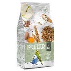 PUUR Budgie - smaczna mieszanka dla papużek falistych 750 g