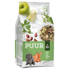 PUUR Rabbit Junior - smaczne müsli dla młodych królików 600 g