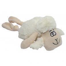 Pluszowa, piszcząca biała owieczka, 35 cm