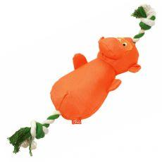 Pluszowa, nylonowa małpka, 40 cm