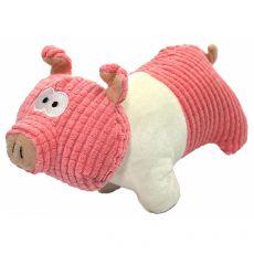 Pluszowa, piszcząca, mała świnka, 22 cm
