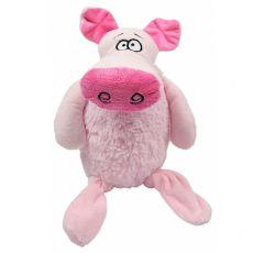 Pluszowa, piszcząca, duża świnka, 35 cm