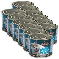 Konserwa dla kotów Leonardo - z ryby 12 x 200g