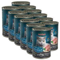 Konserwa dla kotów Leonardo - z ryby 12 x 400g
