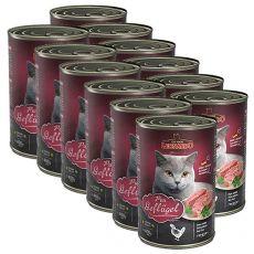 Konserwa dla kotów Leonardo - z drobiu 12 x 400g