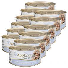 Applaws Cat – konserwa dla kotów z tuńczykiem i serem, 12 x 70g