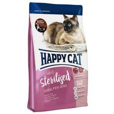 Happy Cat Sterilised Voralpen Rind / Wołowina 10 kg